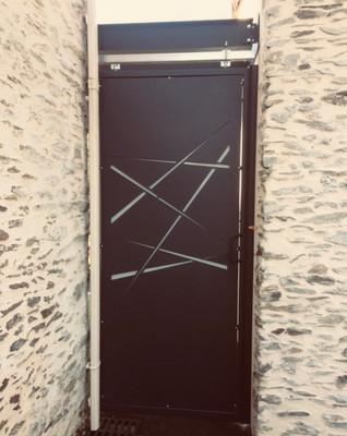 Porte coulissante