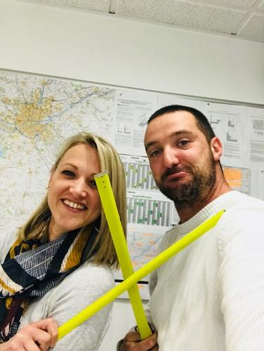 Rachel et Charles - conducteur de chantier/dessinateur