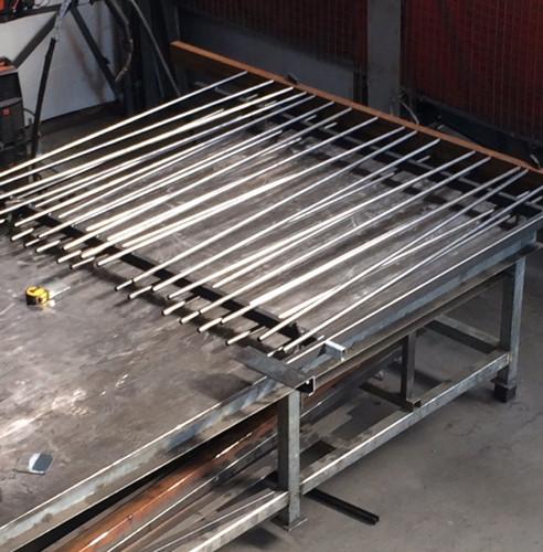 Fabrication de clôture barreaudée