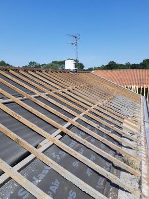 Isolation toiture PBF