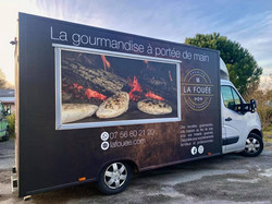 Covering complet foodtruck