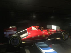 Habillage simulateurs F1