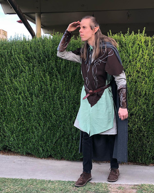My first foray into garment sewing gave me a Legolas costume that I'm rather proud of.