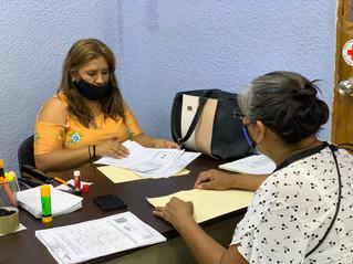 Continua la entrega de credenciales INAPAM en Iguala