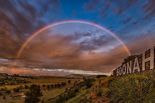 Boonah Rainbow Greeting Card