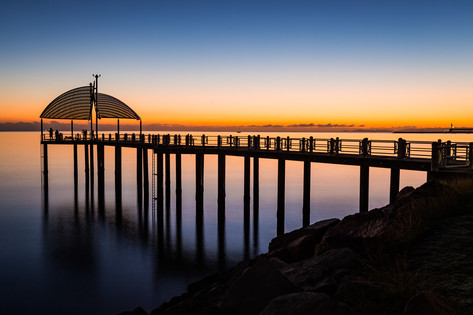Sunrise at the Strand