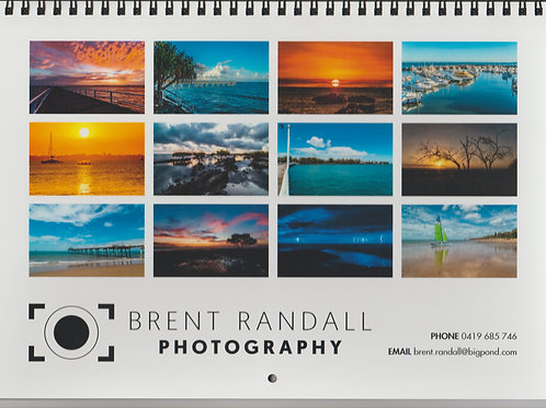 2020 Hervey Bay Calendar