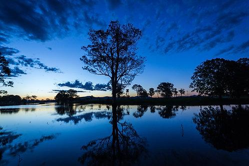 The Sunset Blues Canvas 50CM X 40CM