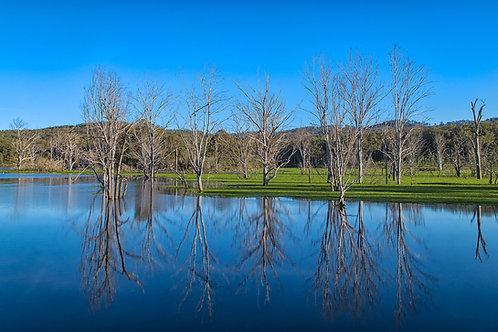 Lake Reflections Canvas 45CM X 30CM