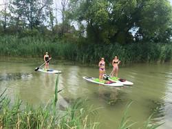 Paddleboarding Port Clinton, Ohio