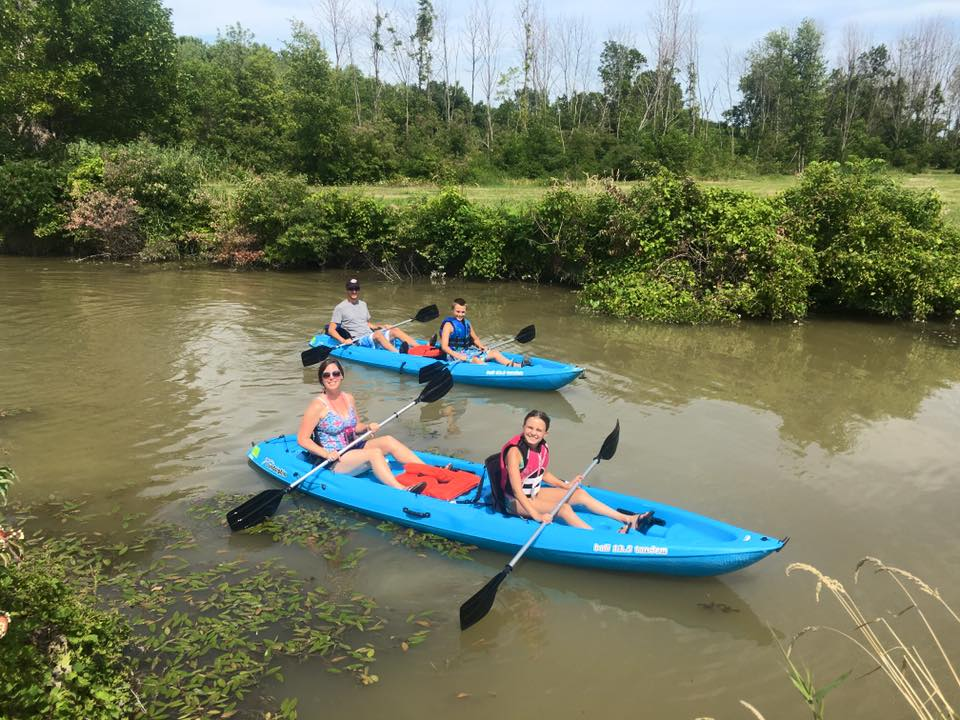 Double Kayak Rentals Port Clinton