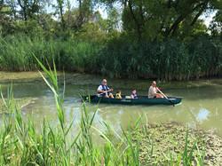 Canoeing Port Clinton, Ohio