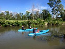 Kayaking Lake Erie
