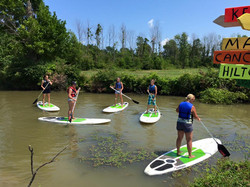 Paddleboard Rentals Port Clinton