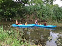Kayaking the Portage River