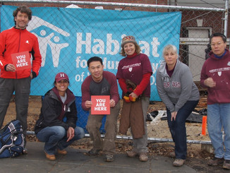 HKS joins Habitat for Humanity for Build Day