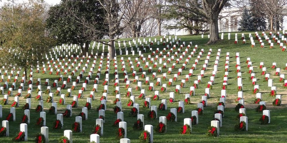 Wreaths Across America at Arlington