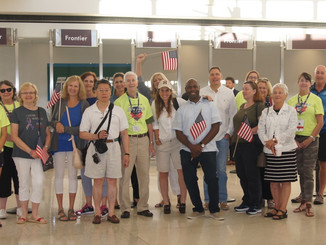 HKS DC Welcomes an Honor Flight