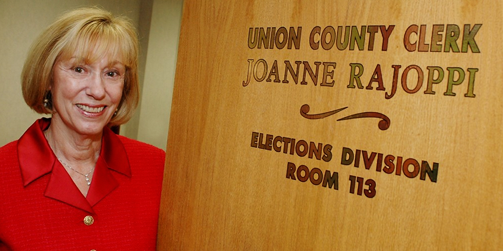 Administering Election Laws: The View from Union County Clerk Joanne Rajoppi