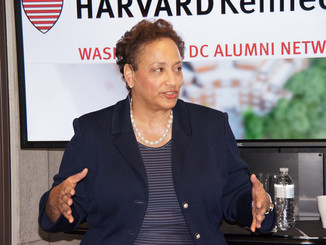 HKS Breakfast: AARP CEO Jo Ann Jenkins Discussed Innovative Ways to Disrupt Aging