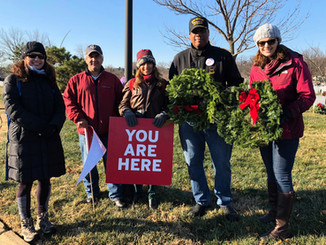 HKS DC Alumni Support Wreaths Across America at Arlington National Cemetery