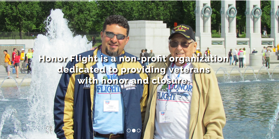 HKSDC Welcomes an Honor Flight