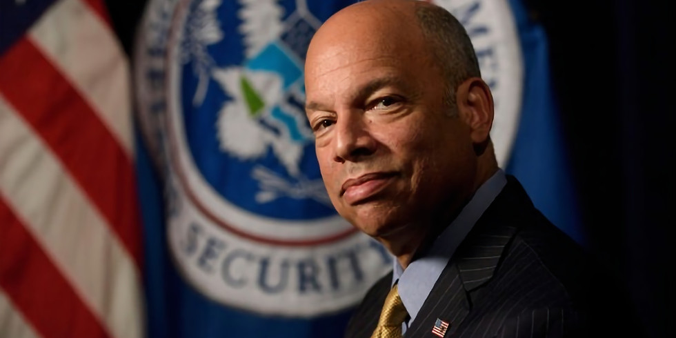 National Security Breakfast with former DHS Secretary Jeh Johnson
