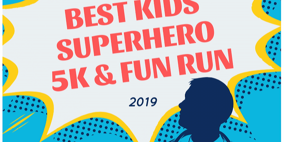 VOLUNTEER Service -  BEST Kids Superhero Fun Run!