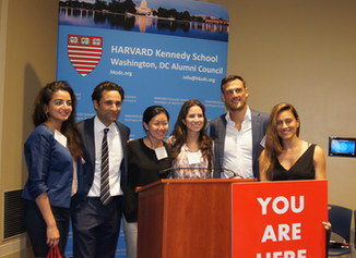 Over 200 Alums Gather at HKSDC's Annual Fall Reception on Capitol Hill