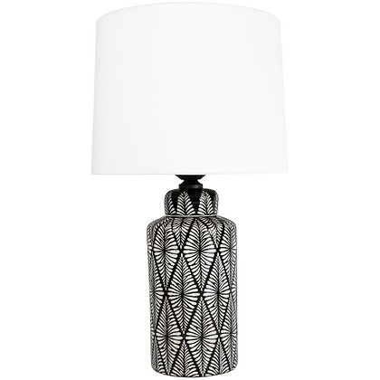 Grand Illusions Indochine Noir Lamp & Shade