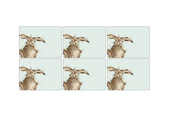 Pimpernel Wrendale Designs Set of 6 Hare Placemats