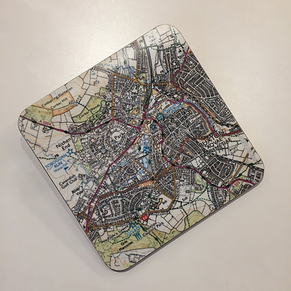 Buxton Map Teapot Stand