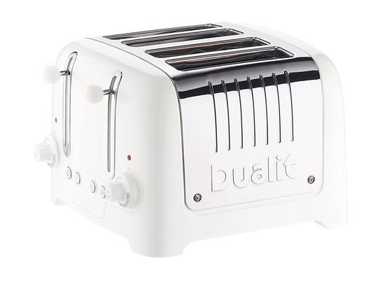 Dualit Lite 4 Slice Toaster - Gloss White