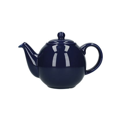 London Pottery 4 Cup Globe Teapot - Cobalt Blue