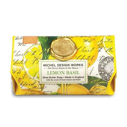 Michel Designs Bar Soap - Lemon Basil