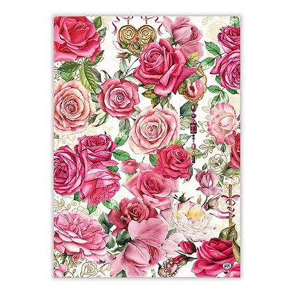 Michel Designs Kitchen Towel - Royal Rose