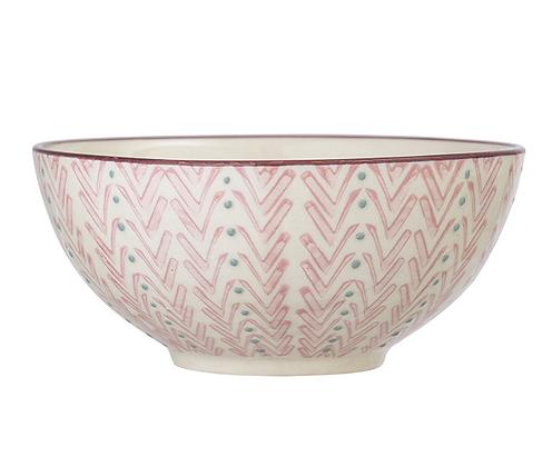 Bloomingville Maya 16cm Bowl - Pink