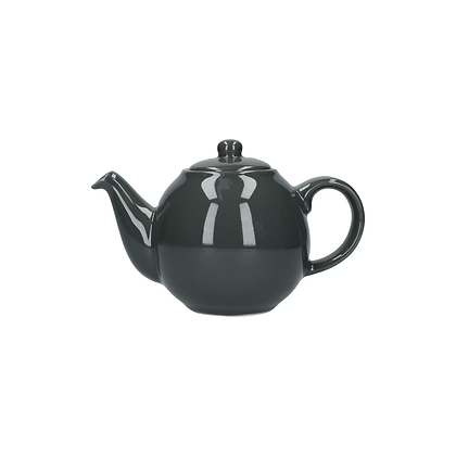 London Pottery 2 Cup Globe Teapot - Grey