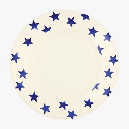 Emma Bridgewater Blue Stars 10.5 inch Dinner Plate