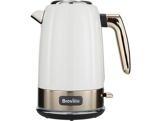 Breville New York 1.7L Kettle - White and Gold