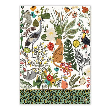 Michel Designs Kitchen Towel - Wild Lemon