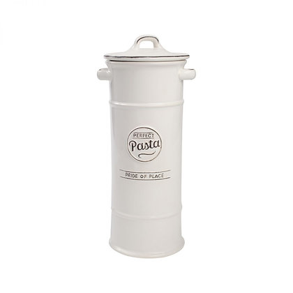 Pride Of Place Pasta Jar White