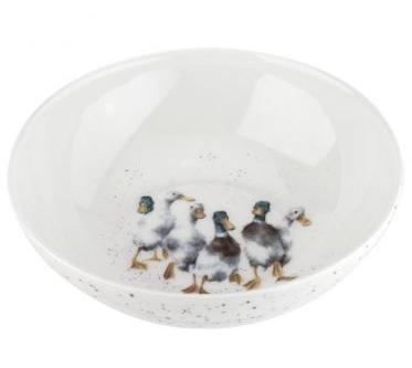 "Royal Worcester Wrendale 6"" Bowl - Ducks"