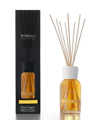 Millefiori Milano Natural 250ml Diffuser - Orange Flower