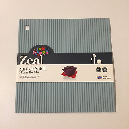 Zeal Surface Shield Silicone Hot Mat- Blue