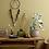 Thumbnail: Bloomingville Buff Ribbed Globe Flowerpot