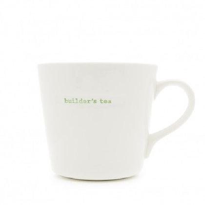 Keith Brymer Jones Large Word Mug - Builder's Tea