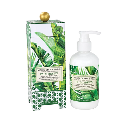 Michel Designs Hand and Body Lotion - Palm Breeze