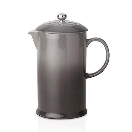 Le Creuset Stoneware Coffee Pot and Press - Flint