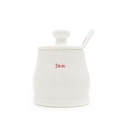 Keith Brymer Jones Jam Pot and Spoon